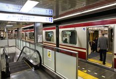Tokyo - Keikyu Train Stock Photo