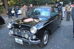 Tokyo klassisk bilfestival i Japan Royaltyfri Foto
