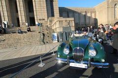 Tokyo klassisk bilfestival i Japan Royaltyfri Bild