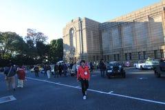 Tokyo klassisk bilfestival i Japan Royaltyfria Bilder