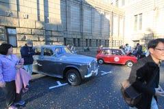 Tokyo klassisk bilfestival i Japan Royaltyfri Fotografi