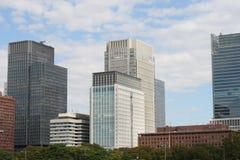 Tokyo kontorsbyggnad royaltyfri foto
