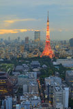 Tokyo-Kontrollturm Lizenzfreie Stockfotos