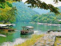 Tokyo lopp-Arashiyama Arkivbilder
