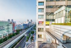 TOKYO - 22 MAI 2016 : Fuji TV siège les bâtiments modernes Il Photos stock