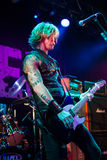 Duff McKagan 2. TOKYO - MAR 7: Duff McKagan performs live in concert March 7, 2013 Duo Exchange. Tokyo, Japan Royalty Free Stock Image