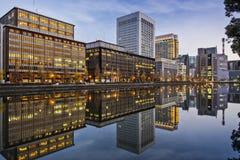 Tokyo at Marunouchi Royalty Free Stock Images