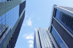 Tokyo Marunouchi Of The Office Building And The Sky Stock Images