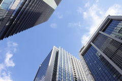 Tokyo Marunouchi of the office building and the sky Stock Image