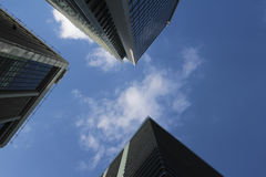 Tokyo Marunouchi of the office building and the sky Stock Photography