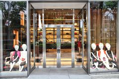 Bottega Veneta fashion store Stock Image