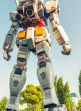 TOKYO - MAY 22, 2016: Full-size Mobile suit Gundam. At the main stock images
