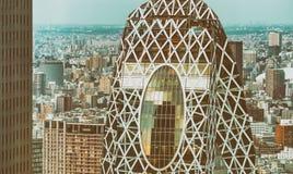 TOKYO - MAY 2016: Modern buildings of Shinjuku. This is the city stock photo