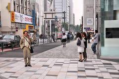 Omotesando, Tokyo Royalty Free Stock Photography