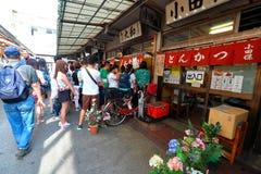 Tokyo: Mercato ittico di Tsukiji Immagine Stock Libera da Diritti