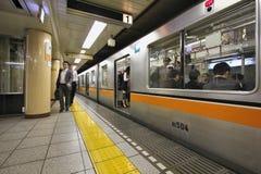 Tokyo Metro train Royalty Free Stock Photos