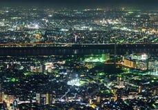 Tokyo Metropolis, Night Royalty Free Stock Photos