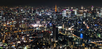 Tokyo Metropolis, Night Stock Photo