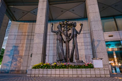 The Tokyo Metropolitan Government building. Royalty Free Stock Images