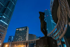 The Tokyo Metropolitan Government building. Stock Photo