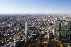 Tokyo from Metropolitan Government Building Stock Photography