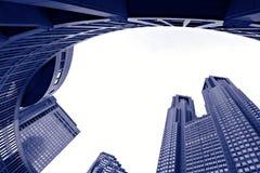 Tokyo-Metropolitanregierungs-Gebäude Stockfoto