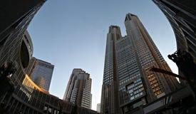 Tokyo-Metropolitanregierungs-Gebäude Stockfotos
