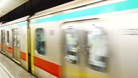 Tokyo Metrorail System stock video footage