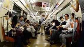 Tokyo Metrorail System stock video