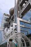 Tokyo modern architecture Stock Photos