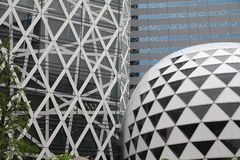 Tokyo modern architecture Stock Image