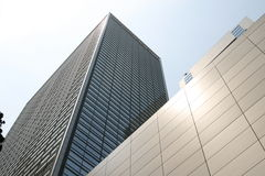 Tokyo modern building Royalty Free Stock Photo