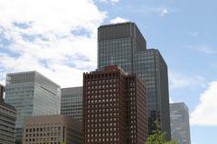 Tokyo modern building Stock Photography