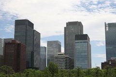 Tokyo modern building Royalty Free Stock Photography