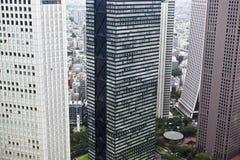 Tokyo: modern buildings in shinjuku Stock Photos