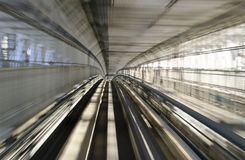 Tokyo Monorail Railway Royalty Free Stock Photos