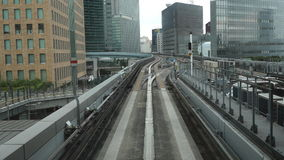 Tokyo Monorail System stock footage