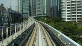 Tokyo Monorail System stock video