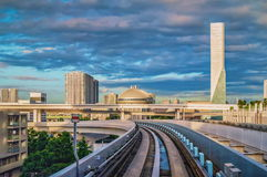 Free Tokyo Monorail Transportation System Line In Odaiba Stock Photos - 89840243