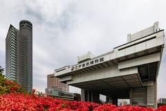 Tokyo-Museum Edo City History Museum Architekturmarkstein von Tokyo lizenzfreie stockfotografie