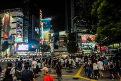 Tokyo na noite fotos de stock