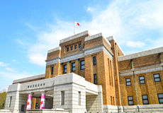 Tokyo nationellt museum av naturen och vetenskap Royaltyfri Foto