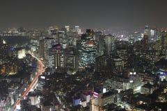 Tokyo at night Stock Photography