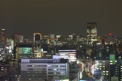 Tokyo at night Royalty Free Stock Images