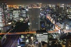 Tokyo at night Stock Image
