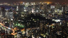 Tokyo at night Royalty Free Stock Photo