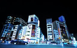 Tokyo by night royalty free stock photo