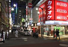 Tokyo night Stock Image