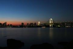 Tokyo. A night shot of Tokyo City Skyline Stock Photography