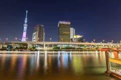 Tokyo at night Royalty Free Stock Images